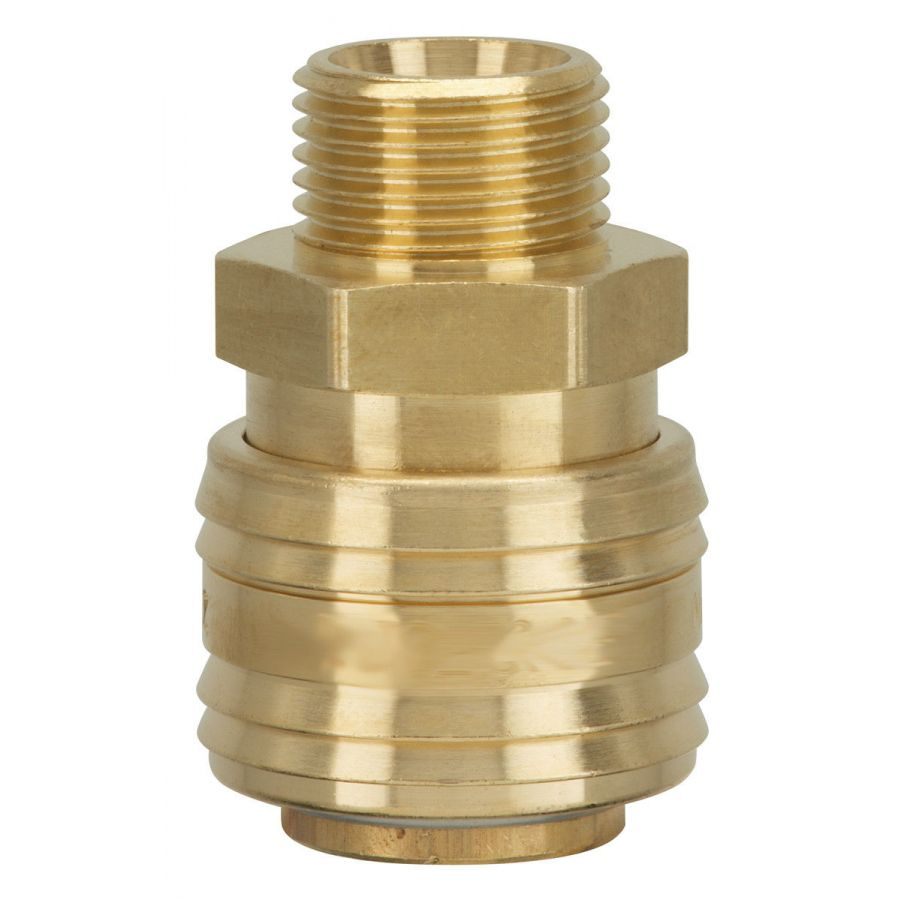 Nippel NW7,2 7,8 Außengewinde Innengewinde Druckluftkupplung Kupplung Messing